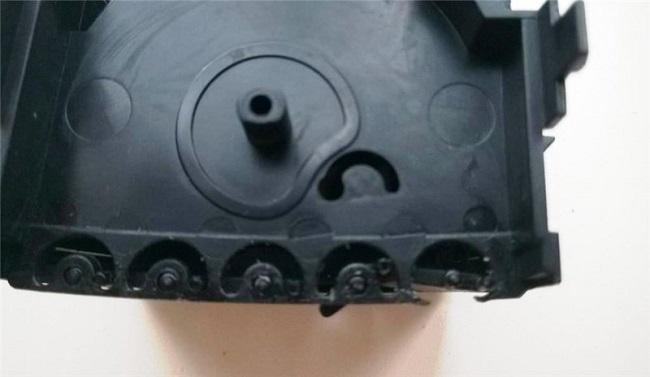 Ремонт заднего дефлектора отопителя Octavia