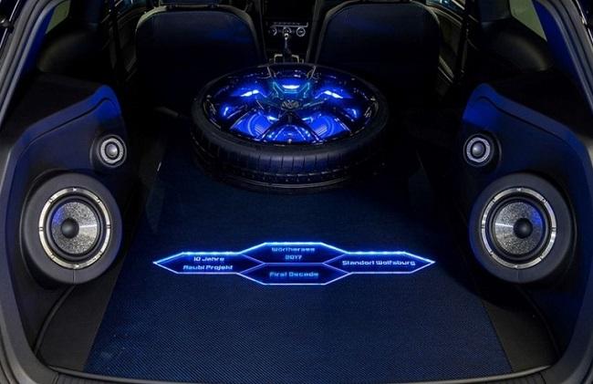 VW GTI Trunk